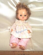 """Vtge 1964 Horsman """"Lullaby & Goodnight"""" Doll W/Sleep Eyes, Open Mouth For Bottle"""