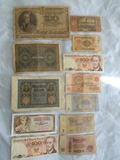 Lot of World paper Money