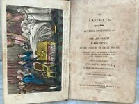Last Days Death Funeral Obsequies of Her Late Majesty Caroline 1st Edition 1822