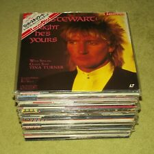 MUSIC LASERDISC FROM JAPAN - JUST £10.00 EACH (JAPANESE LD JOB LOT / COLLECTION)