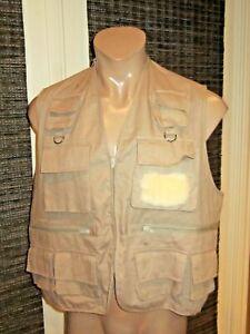 NEW RedHead Men's Full-Zip Multi Pocket Utility Fishing Vest - Large
