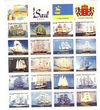 Nederland Kennemer delta post   2005 Sail Zeilschepen velletje     postfris/mnh