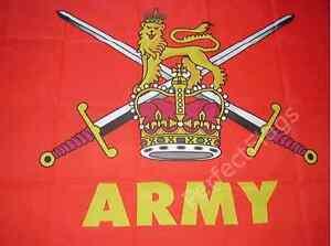 BRITISH ARMY FLAG - UNITED KINGDOM MILITARY FLAGS - Size 3x2, 5x3, 8x5 Feet