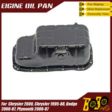 Oil Pan For 1987-2000 Plymouth Voyager V6 3.0L 1987-2000 Dodge Grand Caravan