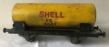 Vecchio vagone Shell- treno giardino/ 45 mm in metallo Binario G  - 2 kg