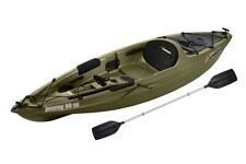Sun Dolphin Journey 10 SS Sit-on Angler Kayak Olive Paddle Included