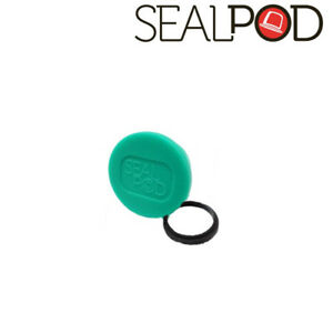 Sealpod Fresh Cover & Silicone Ring for Nespresso compatible Capsules (Green)