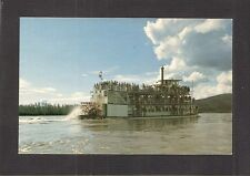 POSTCARD:  STERNWHEEL PADDLE BOAT M.S. DISCOVERY near FAIRBANKS, ALASKA - Unused