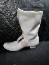 Beautiful Lladro Nao Boot With Buckle Shoe Porcelain