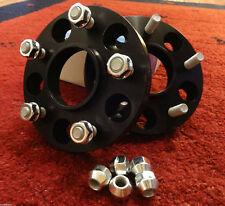 2 x SCC Spurverbreiterung CORVETTE C5 C6 15 mm (30 mm p. A) schwarz ELOXIERT Z06