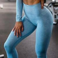 ❤Womens Seamless Yoga Pants Leggings Push Up Sports Gym Fitness Stretch Trousers