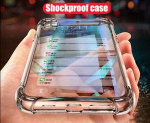 CLEAR Shockproof Case For iPhone 12, 11 Pro Max XR X XS 8 7 6 360 Silicone Glass