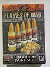 Flames of War: Afrika Korps Paint Set Neu & OVP inkl. Versand in D