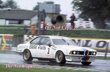 Heyer & Quester SCHNITZER BMW 635 CSI Etcc Silverstone TT 1983 fotografía 1