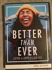 BETTER THAN EVER BY JOEL OSTEEN NEW & SEALED 3 MESSAGE CD/DVD SERIES READ ABOUT!