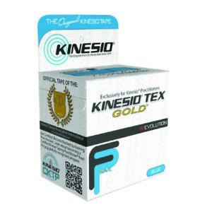 McK Kinesio Tex Gold FP Kinesiology Tape Cotton 2 Inch X 5-1/2 Yard Blue