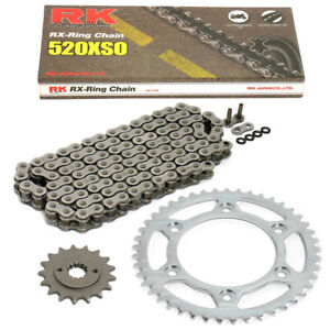 Chain Set Husaberg FC 600 97-99 Chain RK 520 Xso 120 Open 15/48