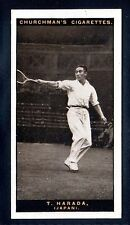 Sport: Other Collectable Churchman Cigarette Cards