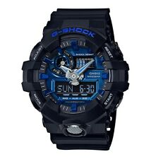 Casio G-Shock *GA710-1A2 Front Button Anadigi Blue Black Resin COD PayPal