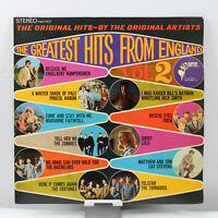 The Greatest Hits From England Vol. 2 Vintage Vinyl Record LP VG+ PAS 71017