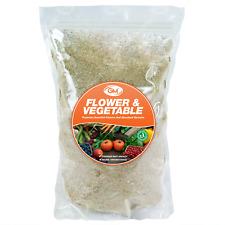 GroundMaster Flower & Vegetable Organic Multi Purpose Plant Food Fertiliser