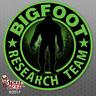 "Bigfoot Research Team ""GREEN"" Sticker - Sasquatch Car Truck Window Decal FS380"