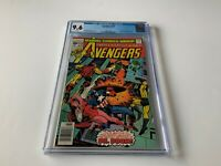 AVENGERS 156 CGC 9.6 WHITE PAGES DOCTOR DOOM SUB-MARINER MARVEL COMICS 1977