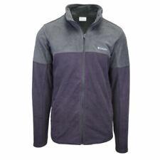 Columbia Men's Purple & Grey Basin Trail Full Zip Fleece Jacket (Retail $69) 511