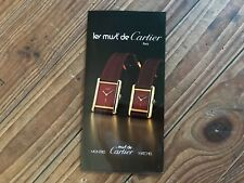 Folleto Les Must de CARTIER Booklet VERMEIL - Paris - Watches Relojes