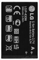 NEW LG LGIP-430N Imprint MN240 GU295 LX290 LX290C LX370 SBPL0098201 OEM BATTERY