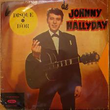 johnny hallyday 1962 LP - DISQUE D'OR -rare israeli pressing- studio recordings