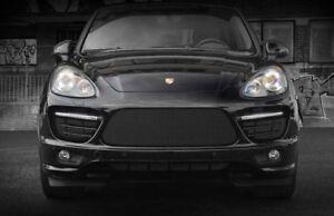 Porsche Cayenne Turbo GTS GT Black 3pcs Bumper Mesh Grille Grill 2011 - 2014