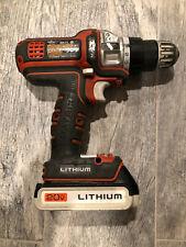 Black & Decker BDCDMT120C 20V MAX Matrix Cordless Drill/Driver with Battery