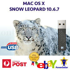 Mac OS X Snow Leopard OSX 10.6.7 USB replaces DVD Recovery MacBook iMac Mini