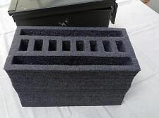 Ammo Can Closed Cell Foam Insert-Turn a 50 cal ammo can into a pistol/gun case