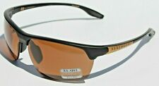 SERENGETI Linosa POLARIZED Sunglasses Satin Black/Gold PhD Driver NEW 8750 Japan