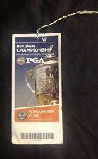 2009 PGA Championship Ticket Hazeltine National Golf Course