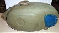'68 69 SEARS ALLSTATE GILERA 106 SS PETROL GAS TANK FUEL CAP PETCOCK BLUE AHRMA