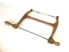 Antique Rare Unusual Small Bow Saw Primitive Old Hand Tools Carpenter