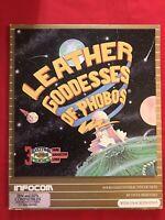 Infocom Leather Goddesses Of Phobos IBM MS-DOS Video Game 1987 - Vintage