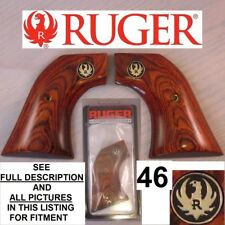 Factory Ruger Wrangler Rosewood Laminated Wood Grips 46