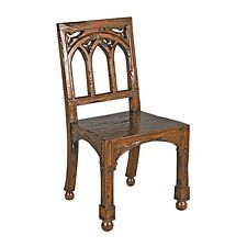 Charmant Design Toscano Gothic Revival Rectory Chair EC   AF51112