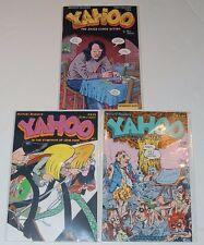 Yahoo Comic books #1 #2 #3 by Joe Sacco The Jaded Comix Bistro Fantagraphics