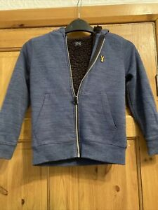 A Blue Zip Up Hoody NEXT AGE 7 Years Unisex