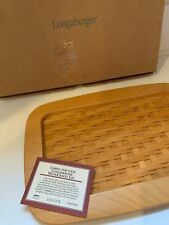 New In Box Longaberger 2000 Founder's Market Basket Woven Lid Only