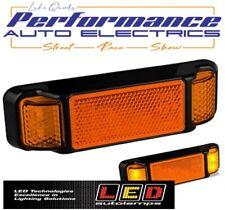 LED Autolamps 38AM Amber Side Indicator Light - 12/24 Volt - ADR Compliant