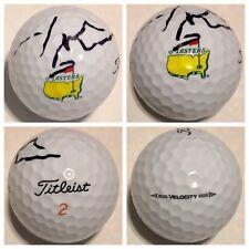 JORDAN SPIETH SIGNED TITLEIST MASTERS GOLF BALL PGA TOUR 2015 CHAMP AUTOGRAPHED