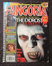 2000 FANGORIA Magazine Oct. #197 VG+ Exorcist - Blair Witch