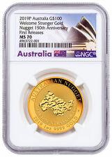 $5 NGC MS70 ER SKU50086 2018-P Australia Year of Dog 1//20 oz Gold Lunar S2