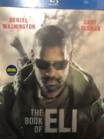 Book Of Eli Steelbook Blu-Ray New Best Buy Exclusive, Denzel Washington